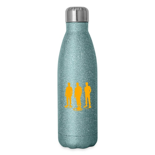 Pathos Ethos Logos 2of2 - Insulated Stainless Steel Water Bottle