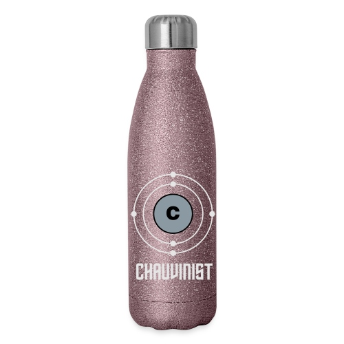 Carbon Chauvinist Electron - Insulated Stainless Steel Water Bottle