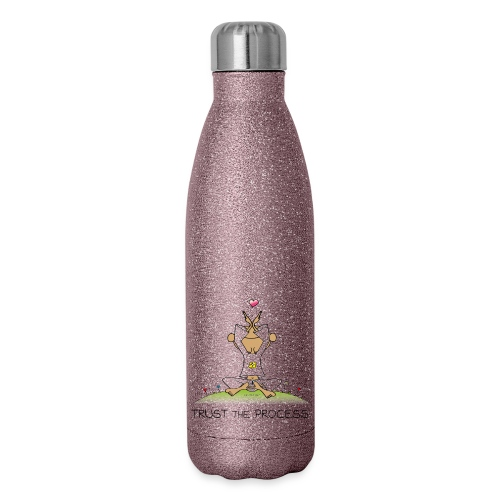Trust the Process - Insulated Stainless Steel Water Bottle