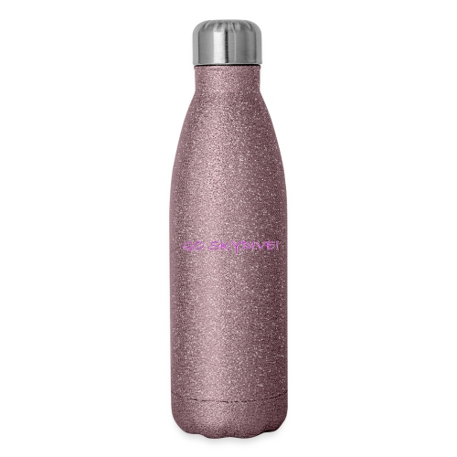 Go Skydive T-shirt/BookSkydive - Insulated Stainless Steel Water Bottle