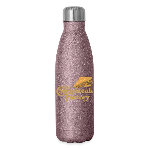 The Cheesesteak Factory - Insulated Stainless Steel Water Bottle