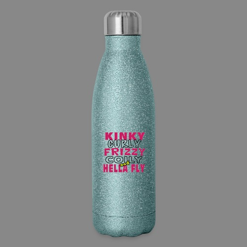 Kinky Curly Frizzy - Insulated Stainless Steel Water Bottle