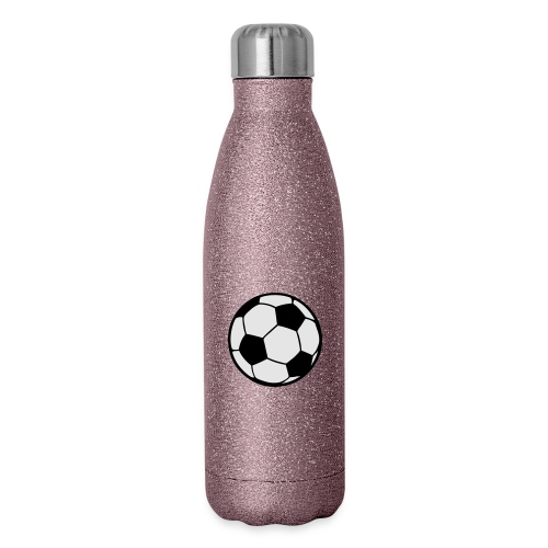 Custom soccerball 2 color - Insulated Stainless Steel Water Bottle