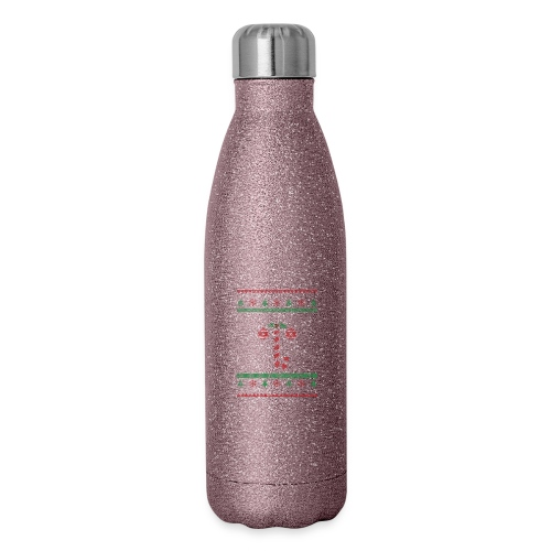 I like your balls ugly Christmas sweater - Insulated Stainless Steel Water Bottle