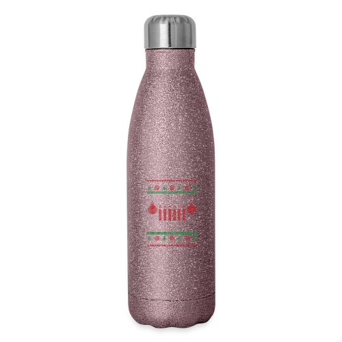 Merry Jeep-Mas - Insulated Stainless Steel Water Bottle