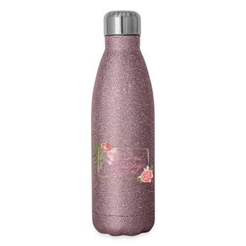 Blessings head to toe roses - Insulated Stainless Steel Water Bottle