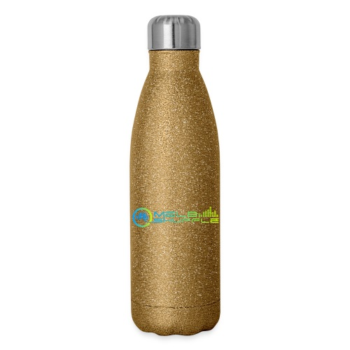 Melbshuffle Gradient Logo - Insulated Stainless Steel Water Bottle