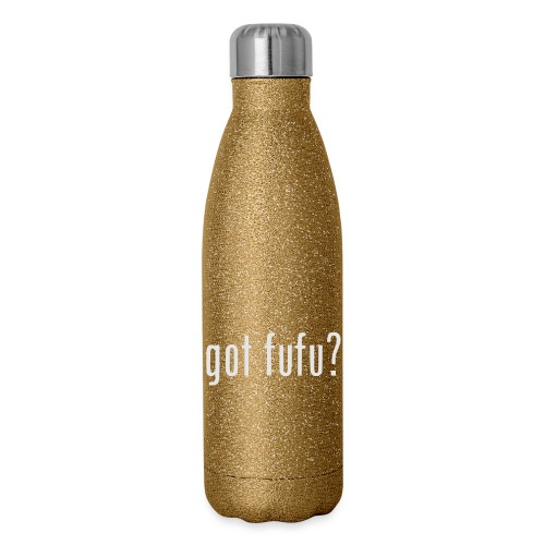 gotfufu-white - Insulated Stainless Steel Water Bottle