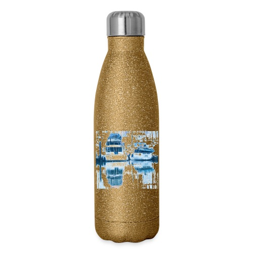 December boats - Insulated Stainless Steel Water Bottle
