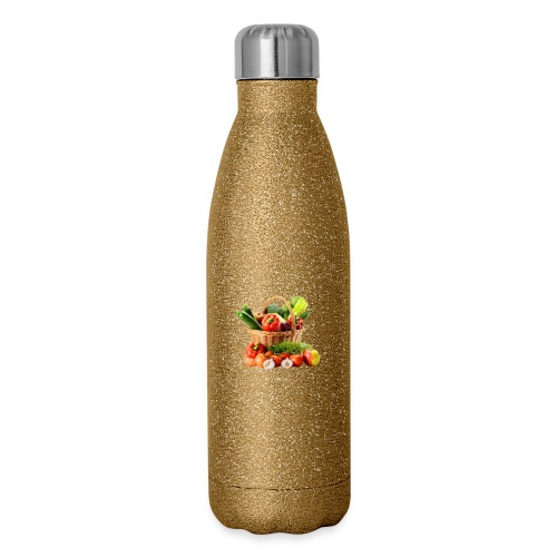 Vegetable transparent - Insulated Stainless Steel Water Bottle