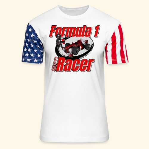 Formula 1 Sim Racer - Unisex Stars & Stripes T-Shirt