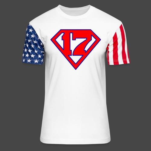 Super 17 - Unisex Stars & Stripes T-Shirt