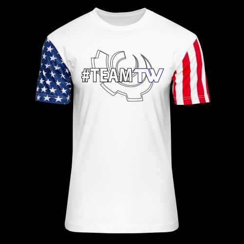 TeamTW - Unisex Stars & Stripes T-Shirt