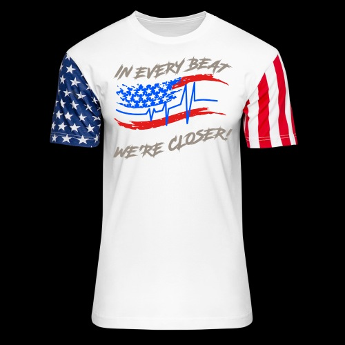 #TranceFamily Got Your Six! - Unisex Stars & Stripes T-Shirt