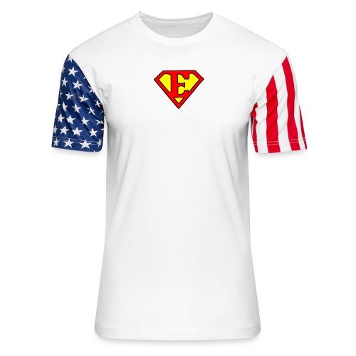super E - Unisex Stars & Stripes T-Shirt