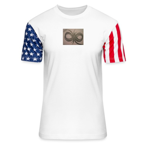 Infinity - Unisex Stars & Stripes T-Shirt