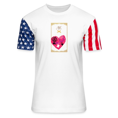 Heart of Economy 1 - Unisex Stars & Stripes T-Shirt