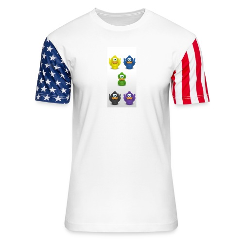 5 adiumys png - Unisex Stars & Stripes T-Shirt