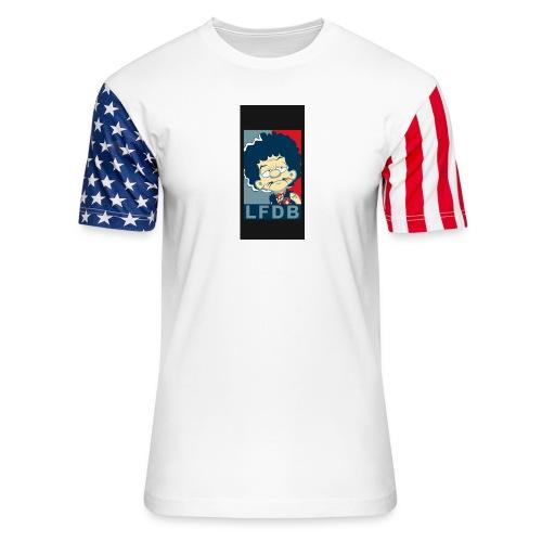 case3iphone5 - Unisex Stars & Stripes T-Shirt