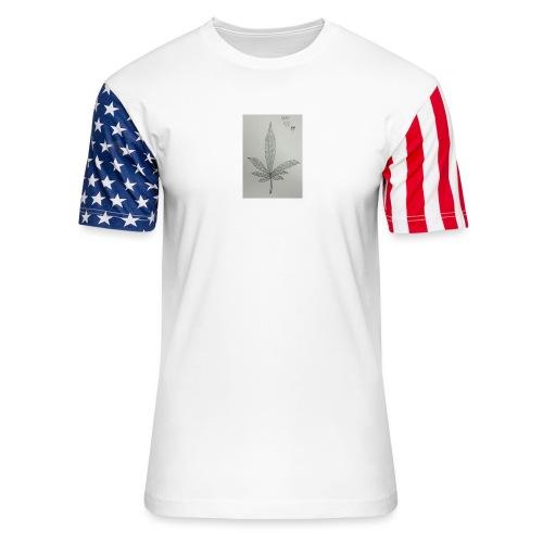 Happy 420 - Unisex Stars & Stripes T-Shirt