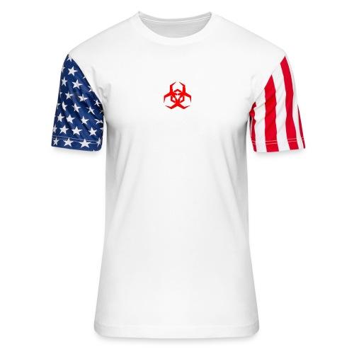 HazardMartyMerch - Unisex Stars & Stripes T-Shirt