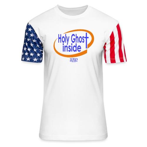 ***12% Rebate - See details!*** Holy Ghost Inside - Unisex Stars & Stripes T-Shirt