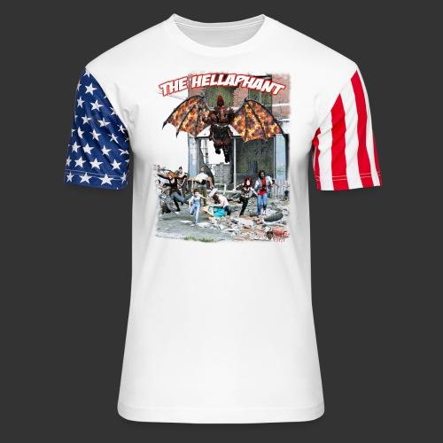 The Hellaphant Alternate Concept: Re-Issue - Unisex Stars & Stripes T-Shirt