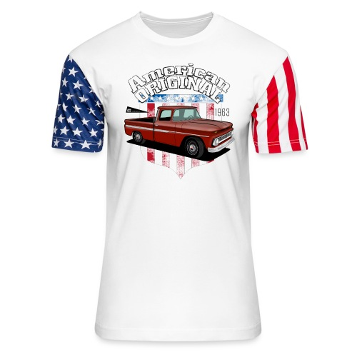 American Original RED - Unisex Stars & Stripes T-Shirt