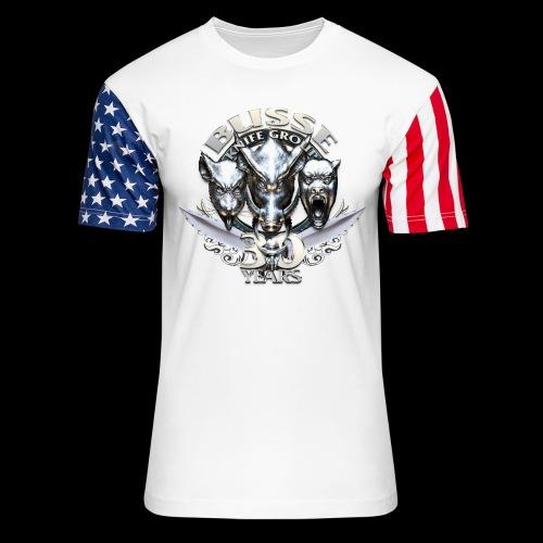none - Unisex Stars & Stripes T-Shirt