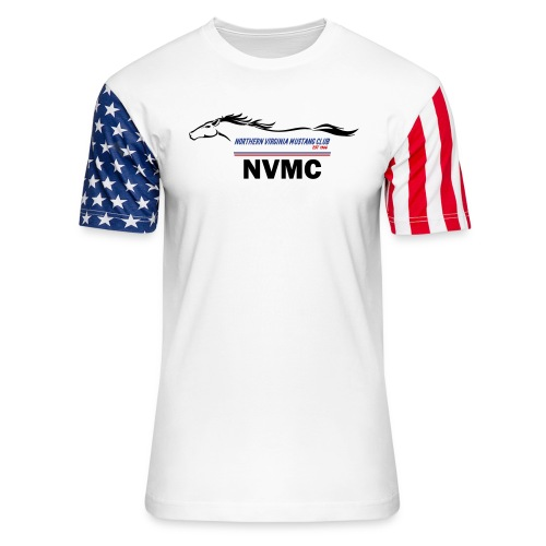 Color logo - Unisex Stars & Stripes T-Shirt