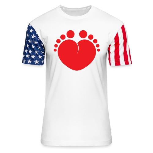 Heart 'n' Sole - Unisex Stars & Stripes T-Shirt