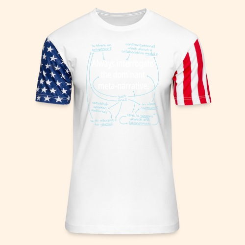 Dominant Meta-Narrative - Unisex Stars & Stripes T-Shirt