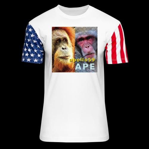 APE - Apollo59 Cover Art - Unisex Stars & Stripes T-Shirt