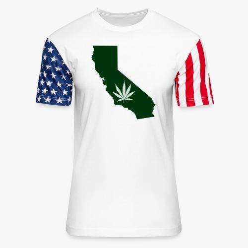 weed - Unisex Stars & Stripes T-Shirt