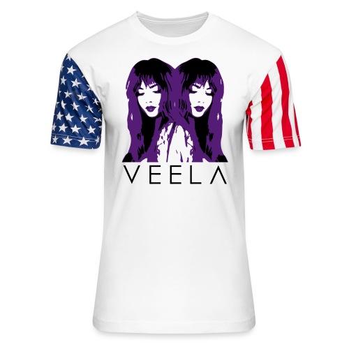 Double Veela Light Women's - Unisex Stars & Stripes T-Shirt