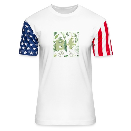 Be positive - Unisex Stars & Stripes T-Shirt