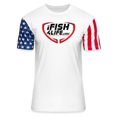 iFish4Life.org - Unisex Stars & Stripes T-Shirt
