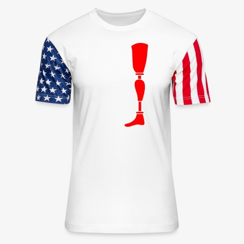 Equality for People with Disabilities - Unisex Stars & Stripes T-Shirt