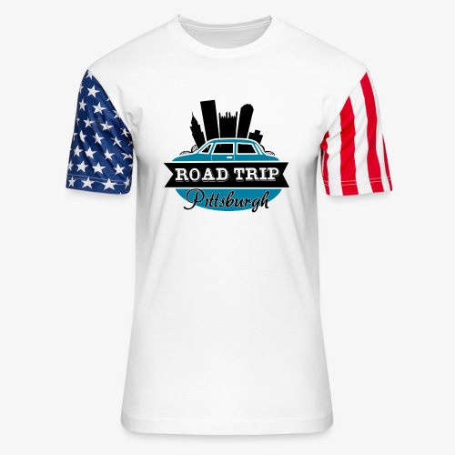 road trip - Unisex Stars & Stripes T-Shirt