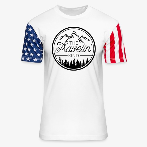 The Travelin Kind - Unisex Stars & Stripes T-Shirt