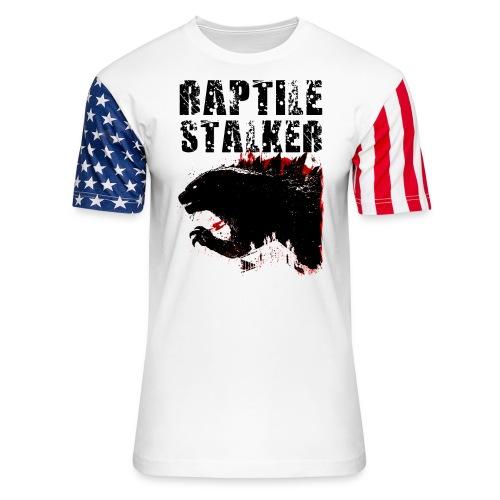 Raptile Stalker - Unisex Stars & Stripes T-Shirt
