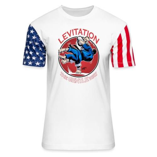 Judo Levitation for dark shirt - Unisex Stars & Stripes T-Shirt