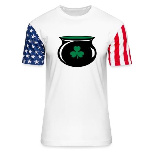 hereforthepot - Unisex Stars & Stripes T-Shirt