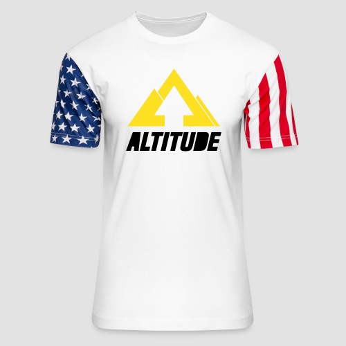 Empire Collection - Yellow 2 - Unisex Stars & Stripes T-Shirt