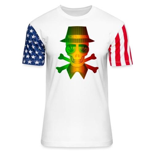 Rasta Man Rebel - Unisex Stars & Stripes T-Shirt