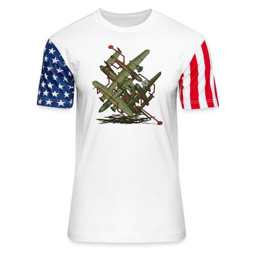 Oh Yossarian... - Unisex Stars & Stripes T-Shirt