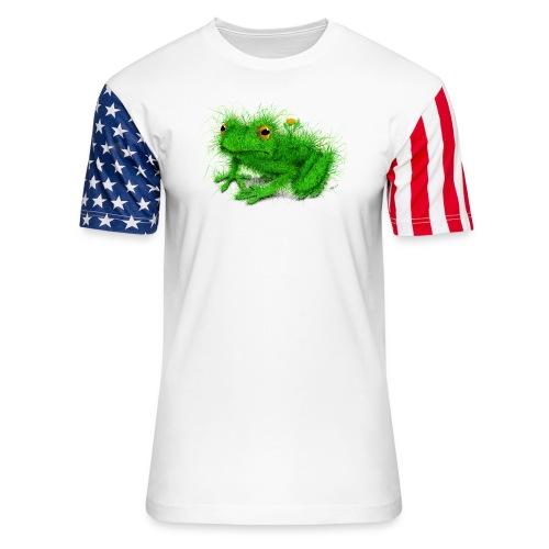 Grass Frog - Unisex Stars & Stripes T-Shirt