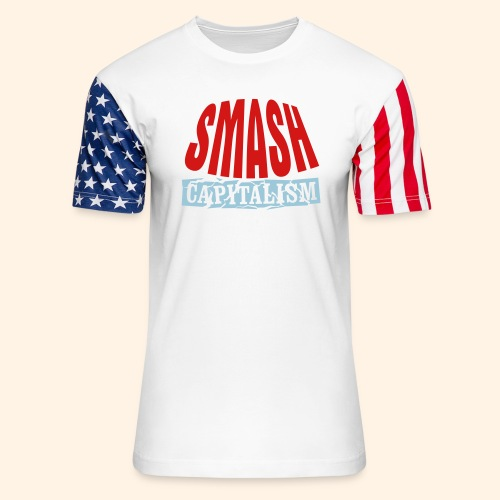 Smash Capitalism - Unisex Stars & Stripes T-Shirt