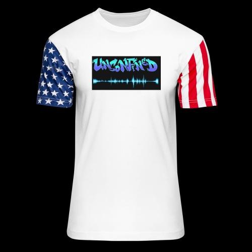 unconfined design1 - Unisex Stars & Stripes T-Shirt