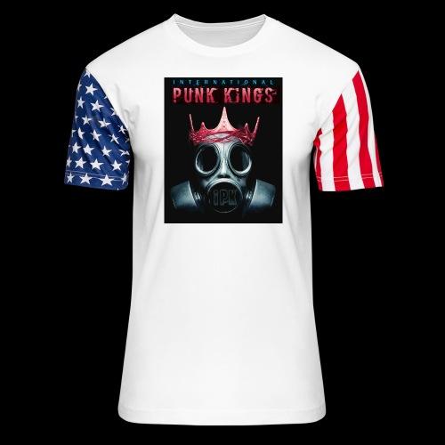 Eye Rock IPK Design - Unisex Stars & Stripes T-Shirt
